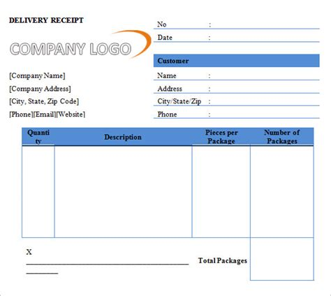 printable receipt templates  samples examples