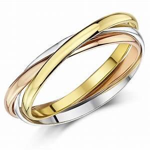 2mm 9ct multi tone 3 colour gold russian wedding ring for Russian wedding rings for sale