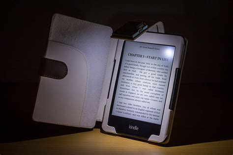 Kindle With Light by Forefront Cases Leather Smart Cover With Light
