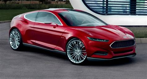 Frankfurt Preview Ford Evos Concept Reveals Brand's New