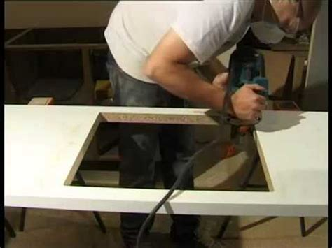 how to cut out a kitchen sink mark two fitting maia worktops cutting out for a sink
