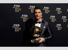 Cristiano Ronaldo wins the FIFA Balon d'Or 2013 and breaks
