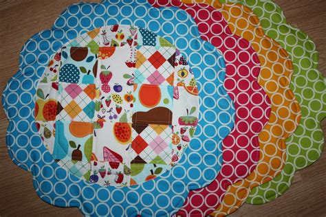 quilted placemat patterns quilted placemats and napkins sew sweetness