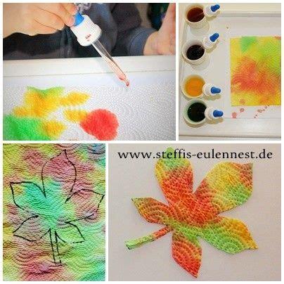 Herbst Kindergarten by Basteln Mit Kindern Basteln F 252 R Kinder Kita Krippe