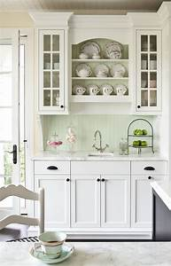 80 cool kitchen cabinet paint color ideas for Kitchen colors with white cabinets with photo to wall art