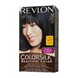 Revlon ColorSilk Hair Color Natural Blue Black 121B