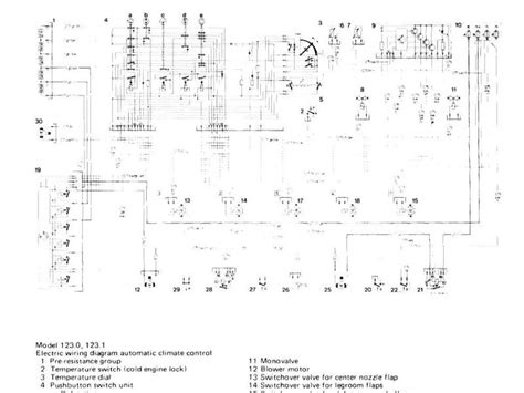 1985 300cd climate wiring diagram needed mercedes forum