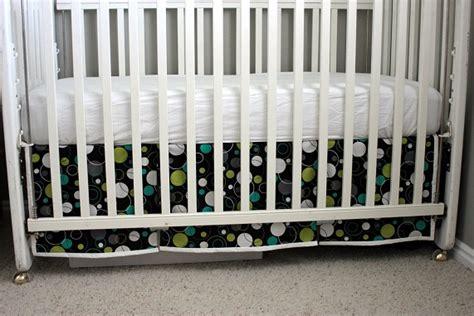 crib skirt pattern a custom crib skirt vanilla