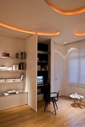 espace bureau dans salon rangements 21 façons d 39 optimiser l 39 espace pièces de