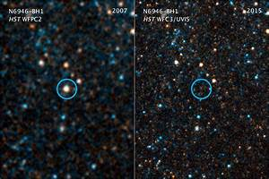 Astronomers Watch as Collapsing Star Turns Into a Black Hole