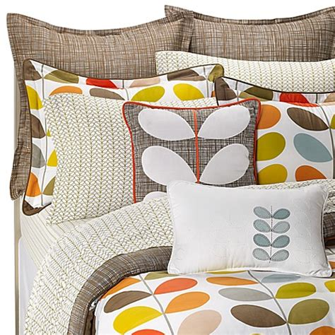Orla Kiely Stem Mini Bed Set, 100% Cotton 300 Thread Count