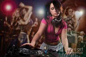 Dj Girl Photograph by Jt PhotoDesign