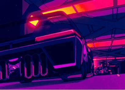 Aesthetic Retro Cyberpunk Crisis Bubblegum Wave Neon