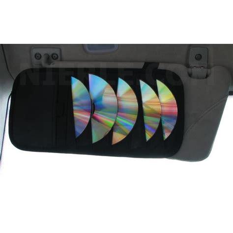 rangement cd pare soleil de voiture pour 24 cd