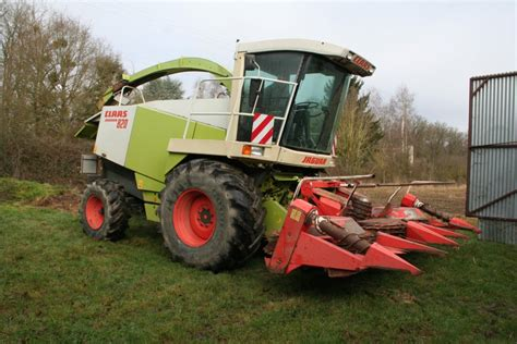 ensileuse claas claas 820 2rm kemper 4500 d occasion