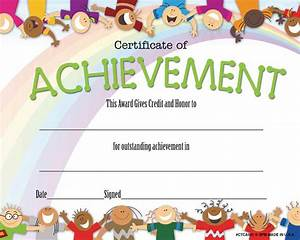 Cool lifetime achievement award template photos entry for Certificate of attainment template
