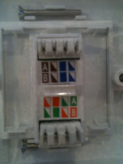 how to wire rj45 socket network security neowin forums