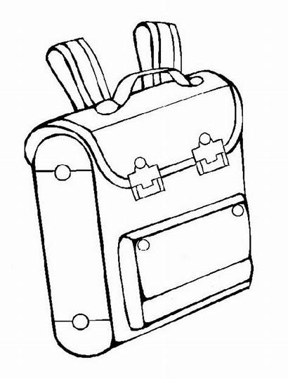 Supplies Coloring Pages Clipart