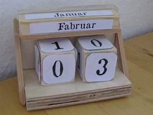 Kalender Selber Basteln Ideen : ewiger kalender ~ Orissabook.com Haus und Dekorationen