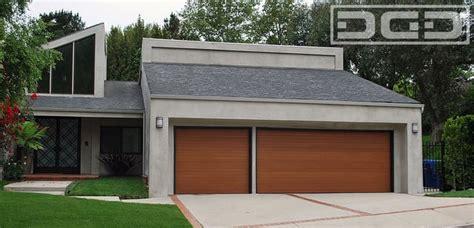 custom wood garage doors   horizontal slat design