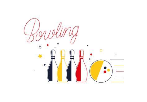 bowling alley element vectors   vector