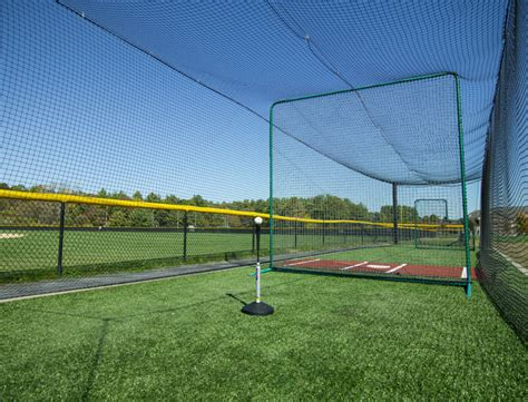 Deck Batting Cages Baton by Outdoor Batting Cage For Baseball Softball On Deck Sports