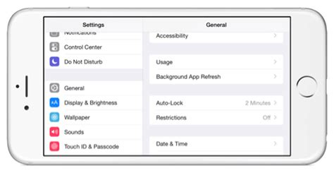 iphone auto lock auto screen lock time setting on iphone 6 plus how to