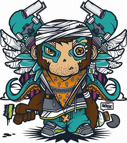 Mnk Crew Desain Grafis Illustrations Graphic Ilustrasi