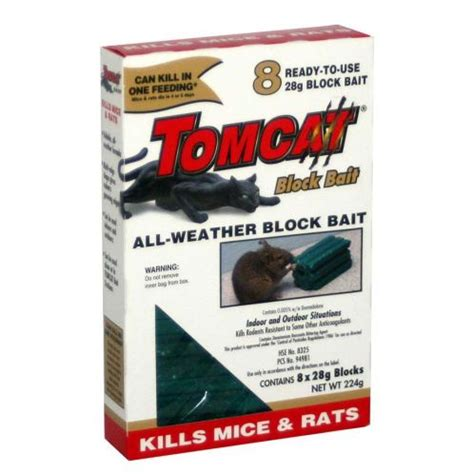 Buy Tomcat Ultra All Weather Rodent Blocks Size 8 X 1oz Blocks