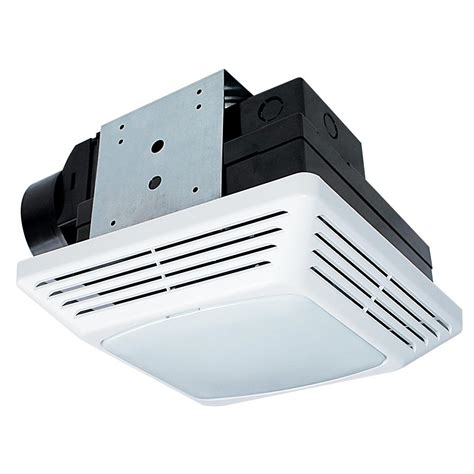 bathroom exhaust fan with light home depot nutone 50 cfm ceiling exhaust bath fan with light 763n