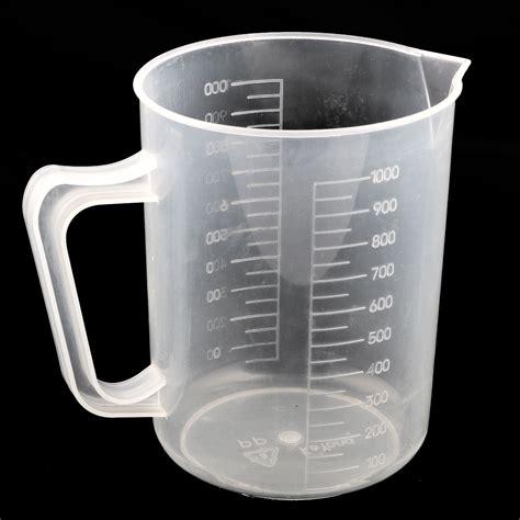 tools capacity measuring liquid cups laboratory plastic 1000ml kitchen walmart 2pcs quantity