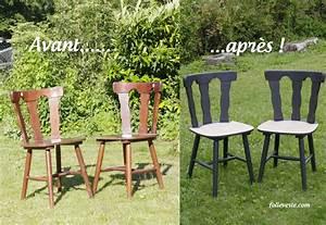 relooker des chaises en bois With repeindre des chaises en bois
