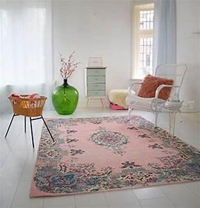 Teppich Shabby Chic : pastell vintage teppich im angesagten shabby chic look f r wohnzimmer schlafzimmer flur ~ Buech-reservation.com Haus und Dekorationen