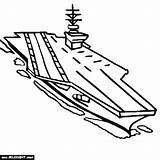 Carrier Aircraft Coloring Battleship Navy Drawing Ship Uss Military Getdrawings Printable Iowa Getcolorings sketch template