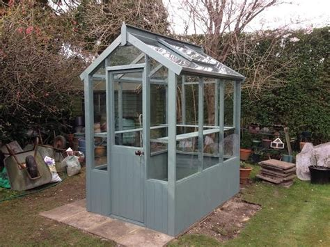 Backyard Greenhouses For Sale by Cotswold Small 4x4 Wooden Greenhouse Gardening