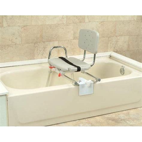 bathtub transfer bench swivel seat snap n save sliding tub mount transfer bench w swivel seat