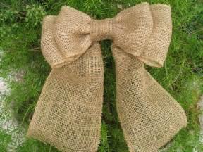 burlap bow burlap wreath bow burlap christmas wreath bow