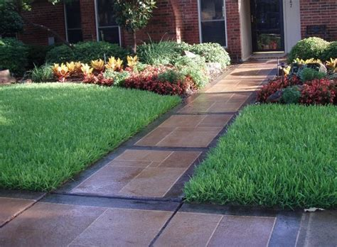 landscape sidewalk ideas sidewalk design landscaping landscaping network
