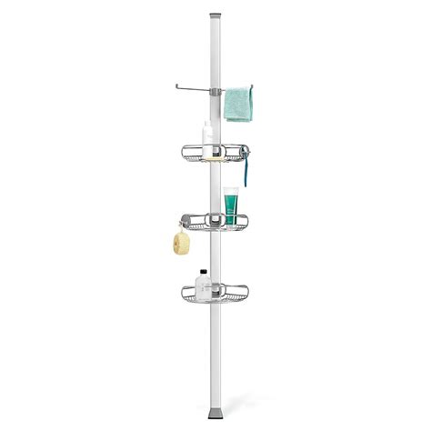 Simplehuman Tension Shower Caddy by Top 10 Best Shower Caddies Heavy