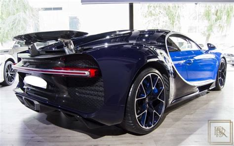It is powered by a 7993cc engine which generates a maximum power of 1200 bhp @ 6400 rpm and gives out a torque of 1500 nm @ 3000 rpm. Used 2016 Bugatti Chiron blue 1450 Km for sale | For Super Rich