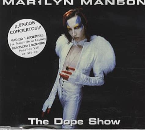 marilyn the dope show promo cd single cd5