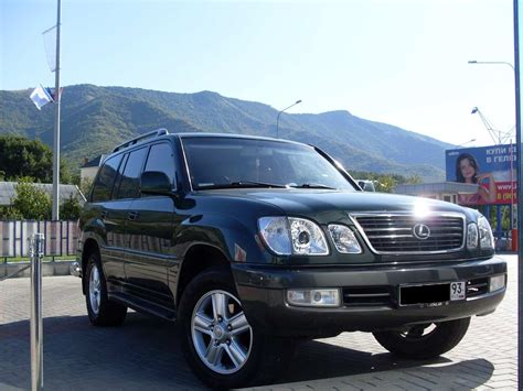 1998 Lexus Lx470 Pictures 47l Gasoline Automatic For Sale