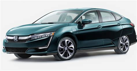 Honda Commits To 75,000 Clarity Evs  Green Car Journal