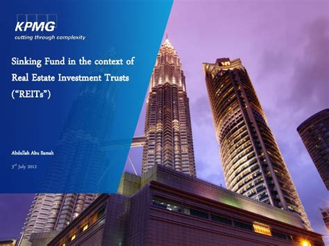 Definition Of Sinking Fund In Property by Sinking Fund 2012 Kpmg Mrma