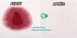 Enlever Tache De Vin Rouge : tache de vin rouge la meilleure astuce pour la faire ~ Melissatoandfro.com Idées de Décoration