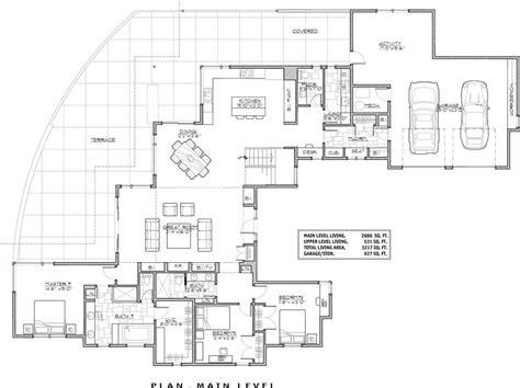 luxury luxury modern house floor plans  home plans design
