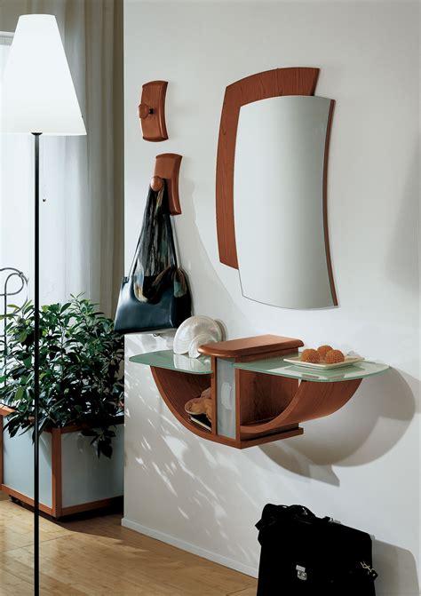 ingressi con specchio gondola con cassetto consolle mobile ingresso con