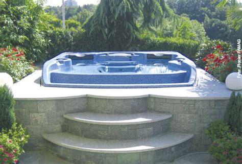 Whirlpool Garten Nachbar by Sprudelspa 223 Im Garten