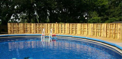 etude cuisine clôtures pallet pour une piscinemeuble en palette meuble