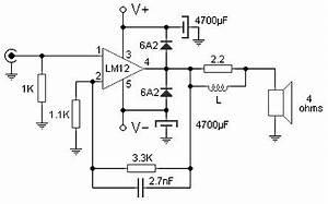 100w audio amplifier based lm12clk circuitszonecom With 100w power amp